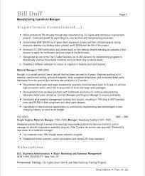 Manufacturing Resume Templates Impressive Manufacturing Resume Template 28 Free Samples Examples Format Resume