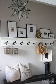 Hanging Coat Rack With Storage Fascinating Williams Home Holly Mathis Interiors For The Home Pinterest