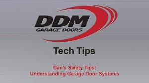 ddm garage doorsDDM Tech Tips Safety Understanding Garage Door Systems  YouTube