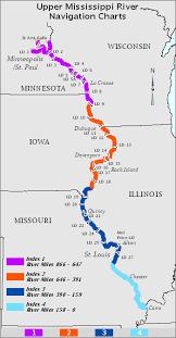 Lower Mississippi River Charts Upper Mississippi River Navigation Charts Mississippi