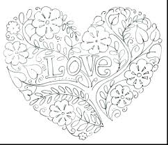 Printable Love Coloring Pages Heart Mandala Coloring Pages Printable