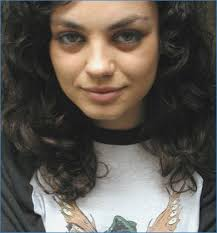mila kunis no makeup actress actor mila kunis eyes no makeup