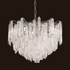 luxurious lighting. waterfall chandelier luxurious lighting