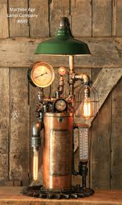 most wicked industrial lamp ideas homemade desk steam pipe black