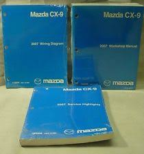 mazda cx service manual 2007 mazda cx 9 factory workshop service wiring diagrams manuals highlights