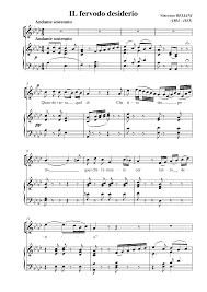 vaga luna che inargenti sheet music 3 ariette bellini vincenzo imslp petrucci music library free