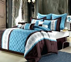 blue and brown bedding brown and blue bedding clearance luxury bedding set blue brown beige brown