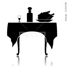 飲食店 カフェレストラン 運行 テーブルのイラスト素材 Pixta