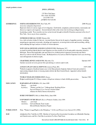 Harvard Law Cover Letters Good Law School Resume Samples