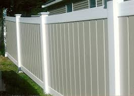 vinyl fence designs. White PVC Privacy Vinyl Fencing Fence Designs I