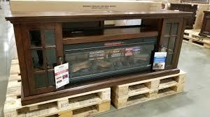 costco tresanti 74 fireplace infrared tv console 449 you