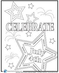 Small Picture Fourth of july usa coloring pages for preschool kindergarten