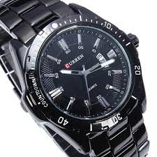 fashion curren 8110 black stainless steel date men quartz wrist fashion curren 8110 black stainless steel date men quartz wrist watch