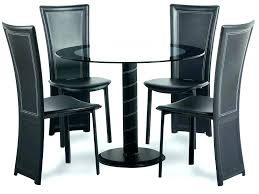 full size of atlanta 120cm white high gloss dining table with 4 stackable chairs kingston round