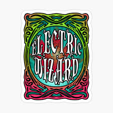Awesome Sticker Design Stoner Doom Electric Wizard Awesome Unlisted Designs In My