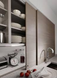 Sliding Door Kitchen Cabinet