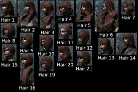 Skyrim Hair Style Mod coolsims hair retexture at skyrim nexus mods and munity 6739 by wearticles.com