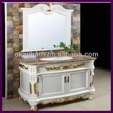 european bathroom vanities. China European Style Classic White Antique Bathroom Vanity Plated Gold Foil Vanities R