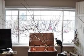 Make a winter tree from tree branches via http://www.funkyjunkinteriors.