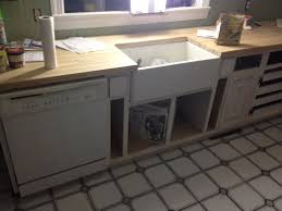 Under Kitchen Sink Cabinet Whimsical Country Curtains A Farmhouse Reborn