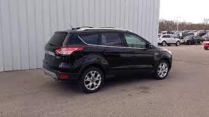 2016 ford escape black. Brilliant Black Shadow Black 2016 Escape Titanium 4WD  16L 300A Moonroof Nav  Cross Bar  YouTube For Ford A