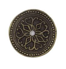 Antique Solid Metal Round Decorative Medallion Back Plate for ANY ...