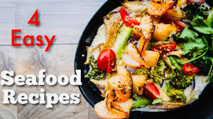 4 Easy Recipes For Seafood Lovers - YouTube