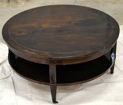 how to stain a coffee table full step