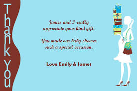 Personalised Baby Shower Thank You Card Design 6