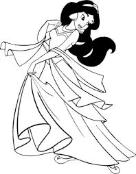 Small Picture free Jasmine coloring pages to color Disney Coloring Pages