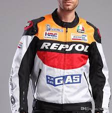 men s moto gp motorcycle repsol racing leather jacket racing jackets motorbike riding pu leather jacket men s coat