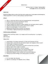 Makeup Artist Resume Samples Best of Makeup Artist Resume Makeup Artist Resume Freelance Makeup Artist
