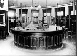ballard carnegie free public library interior ca 1910 historlink org