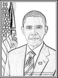 Small Picture Of Barack Obama Free Coloring Pages on Art Coloring Pages