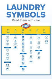 Clorox Care Symbol Chart Read Those Labels With Care Make Laundry Day A Breeze With
