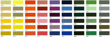 Color Chart For Powder Coating A Type Of Coating That Is