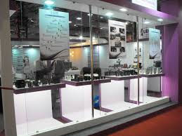 Product Display Stands For Exhibitions Rishabh Electricals First Rain Exhibition Stands For Global Brands 91