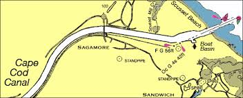 Bsc Cruising Guide Cape Cod Canal Navigation