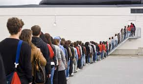 waiting in line. Wonderful Line The 10 Worst Places To Wait In Line Inside Waiting In A