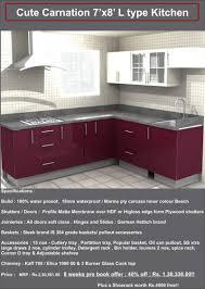 Kitchen Design 7 X 8 Cute Kitchen Modular Kitchen Manufacturer In Chennai A