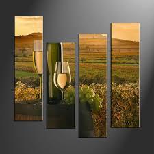 wall art ideas design brown mountain 4 piece wall art glass in 4 piece wall