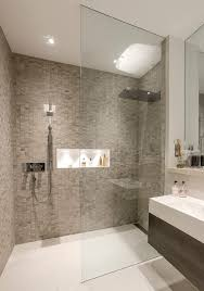 walk in shower lighting. London Shower Lighting With Form Mosaic Tiles Bathroom Contemporary And Room Beautiful Walk In