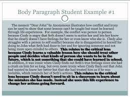 critical lens essay format example argumentative essay paper  literary analysis sample paper