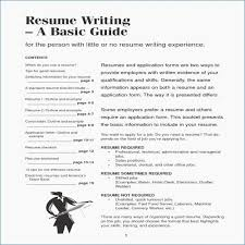 Fast Food Resume Sample A Good Resume Writing Tips - Resume