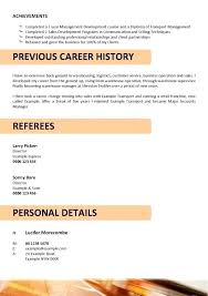 Cv Warehouse Operative Driving Delivery Driver Cv Template Shiftevents Co