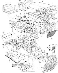 Mtd 135 666 000 1985 parts diagram for electrical