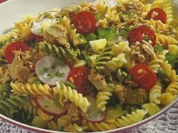 Resultado de imagem para Salada de Macarrão com Molho de Abacate e Anchovas