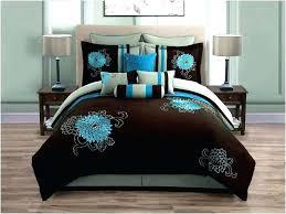 chocolate brown bedding teal bedding set teal brown bedding sets chocolate brown and teal bedding teal