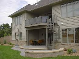 Best Spiral Staircase Outdoor Spiral Deck Stairs Staircases Aluminum Spiral