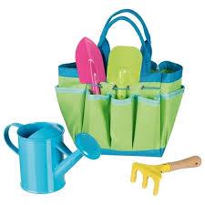 children s garden tool set with bag